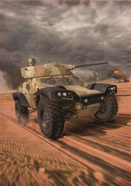 Warwheels Net Crab Combat Reconnaissance Armored Buggy