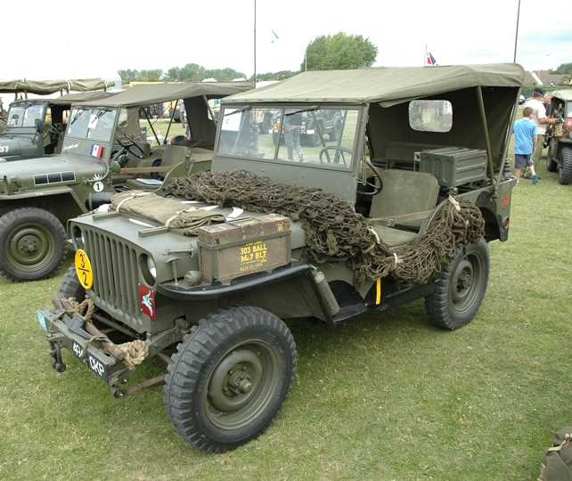 Jeep Willys Mb >> WarWheels.Net- British Airborne Willys MB/Ford GPW 1/4 Ton 4x4 Jeep Photos