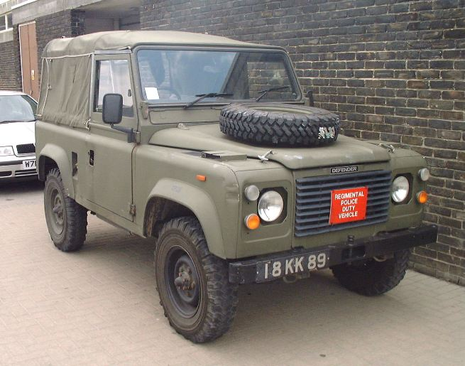Warwheels Net Land Rover Defender Utility Vehicle Index