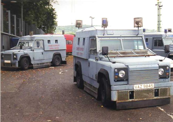 Warwheels Net Land Rover Quot Tangi Quot Armored Patrol Vehicle Index