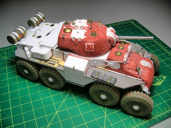 Build A Car From Scratch >> WarWheels.Net - 1/35 T18E2 Boarhound Build Article by Mike ...