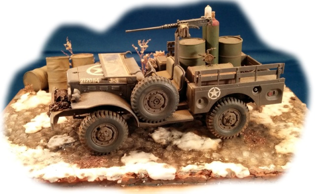 warwheelsnet  afv club dodge  ton wc  weapons carrier  david blankenship