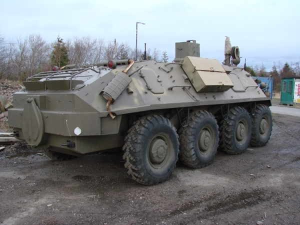 Military Vehicles For Sale >> WarWheels.Net - Photos of the BTR-60 PU Command APC