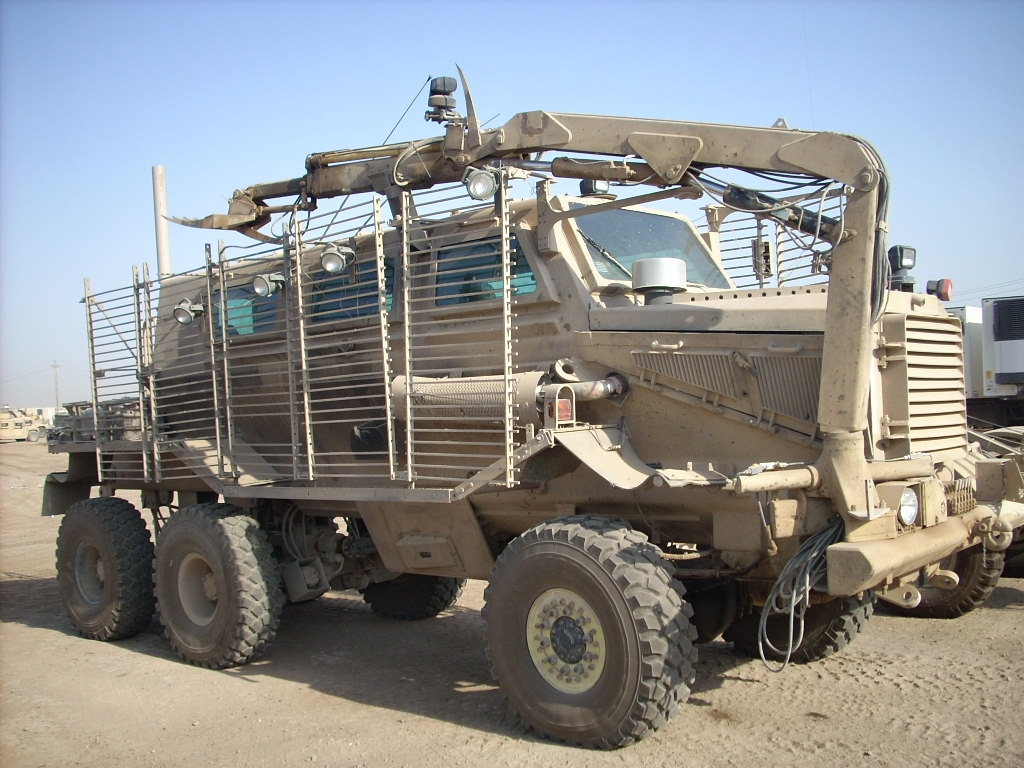 WarWheels.Net Buffalo Mine Protected Clearance Vehicle MPCV Index