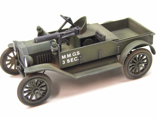 Ford Modell T M S.WW1 Britisch Scout Auto G M 1//72 Modell Set, RPM 72102
